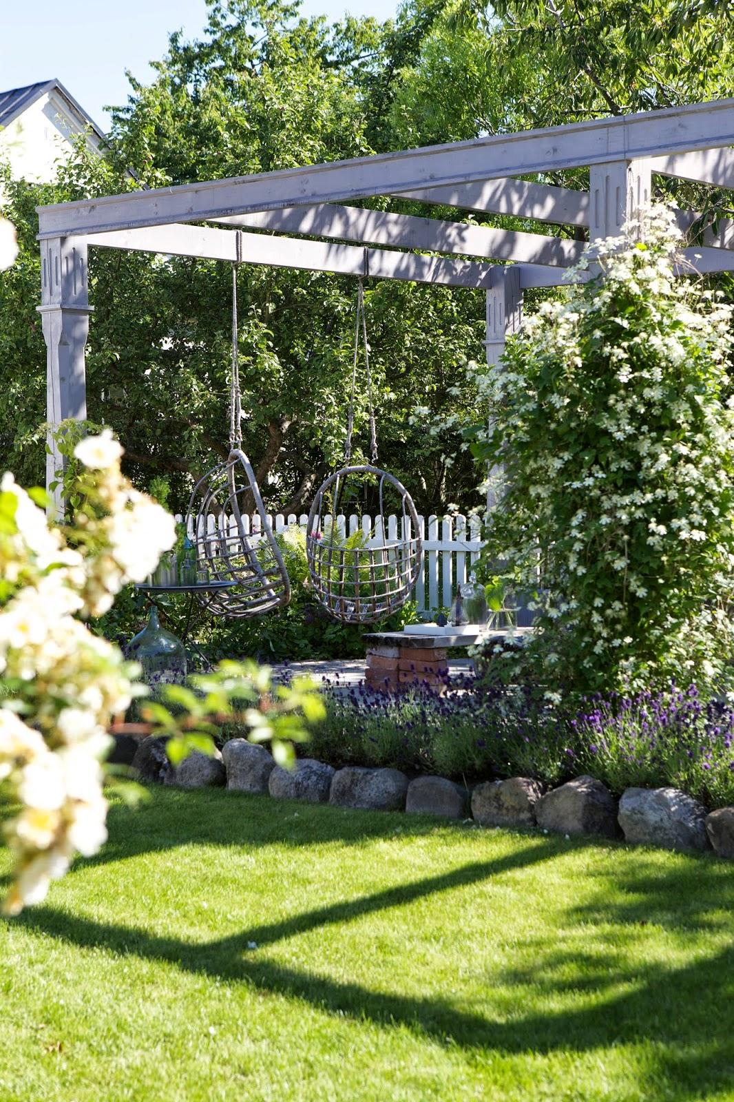 Sommarmorgon | Lilla Villa Vita | 6 Gorgeous Outdoor Spaces