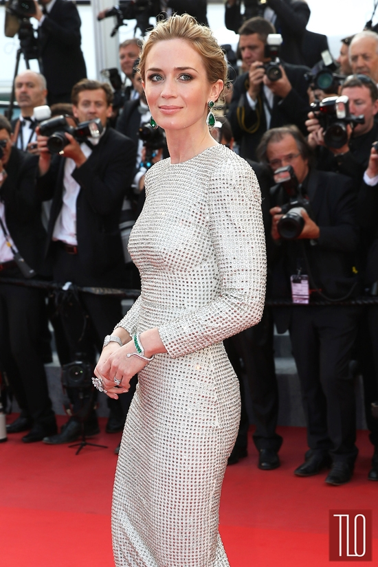 Cannes 2015: Emily Blunt in Peter Pilotto and Stella McCartney | Tom & Lorenzo | Emily Blunt Red Carpet Style
