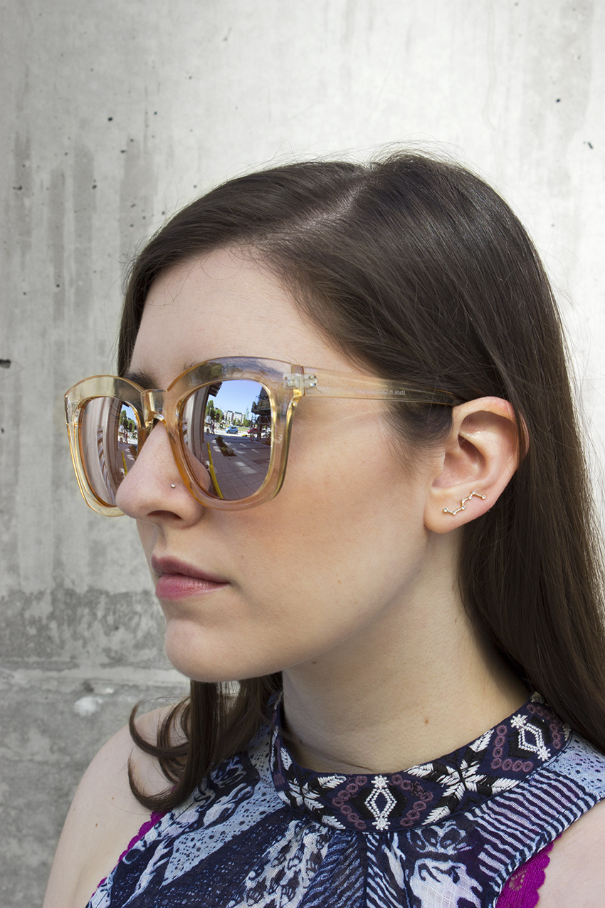 Free People Kensington Sunglasses and Moorea Seal Big Dipper Earring | Summer Accessories on Style and Cheek