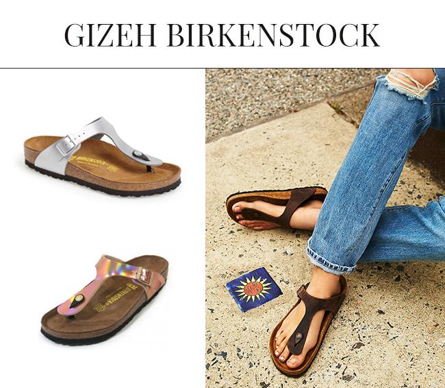 birkenstock gizeh birko-flor sandal