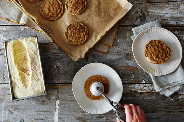 Rhubarb Semifreddo Ice Cream Sandwiches | Food 52 | Summer Ready Rhubarb Recipes