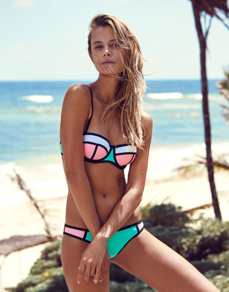 TRIANGL Swimwear Poppy Flamingo Fling