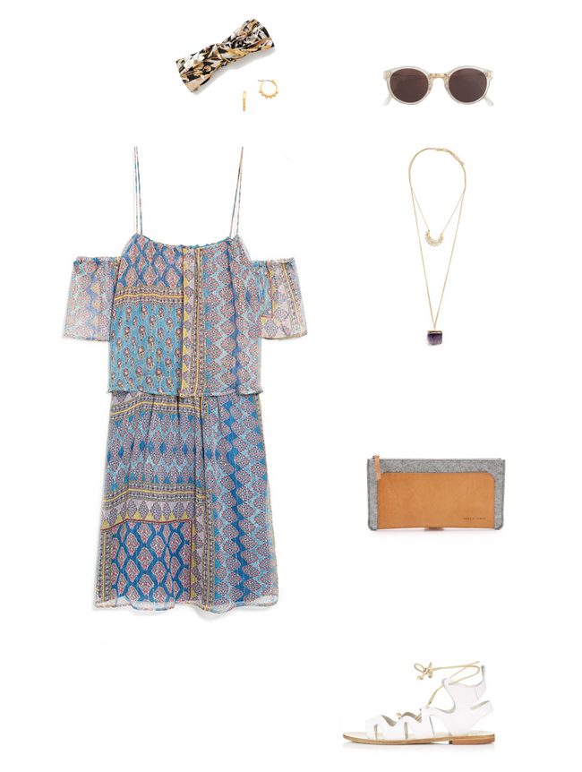 How She'd Wear It - Off the Shoulder Boho Style
