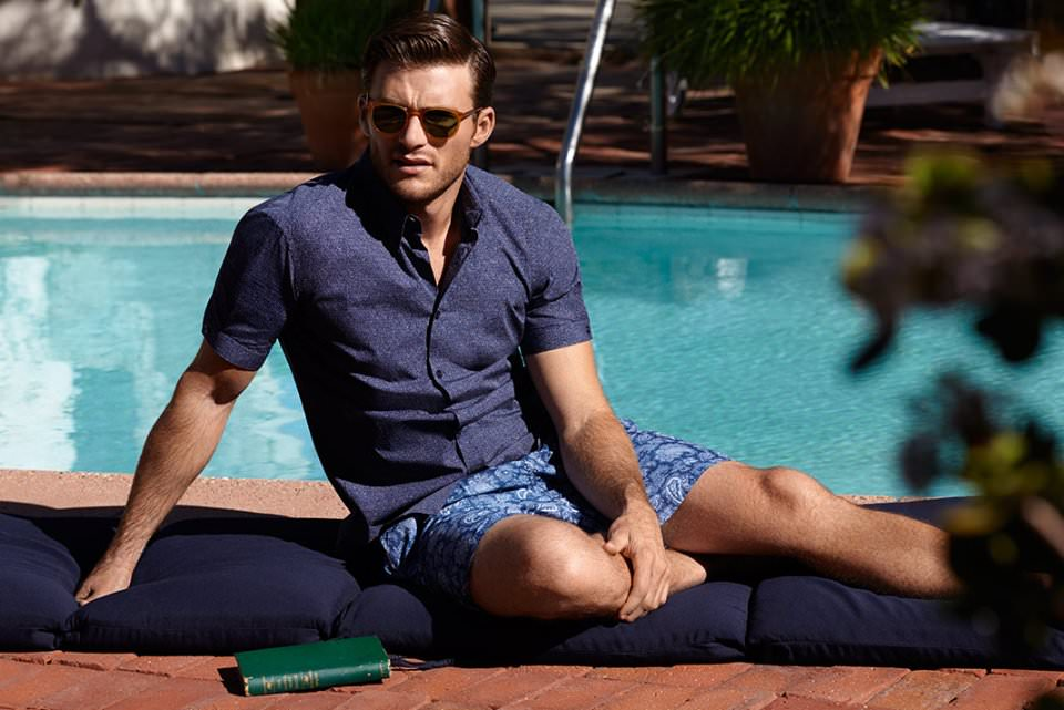 Mr. Scott Eastwood | Mr. Porter | Menswear Summertime Style