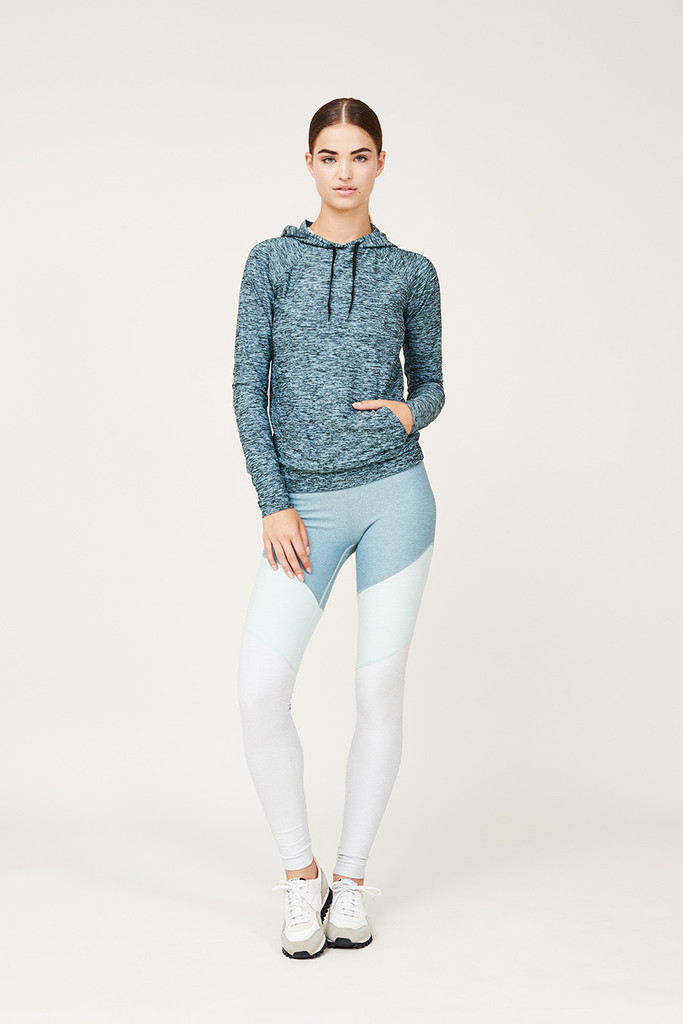 Outdoor Voices Clothing Springs Legging in Slate/Mint/Whiteout