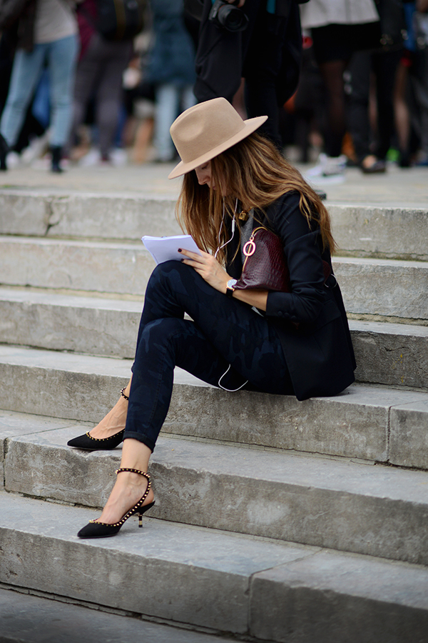 Escaleras del Grand Palais, Paris… | StyleLovely.com | Pre-Fall Style