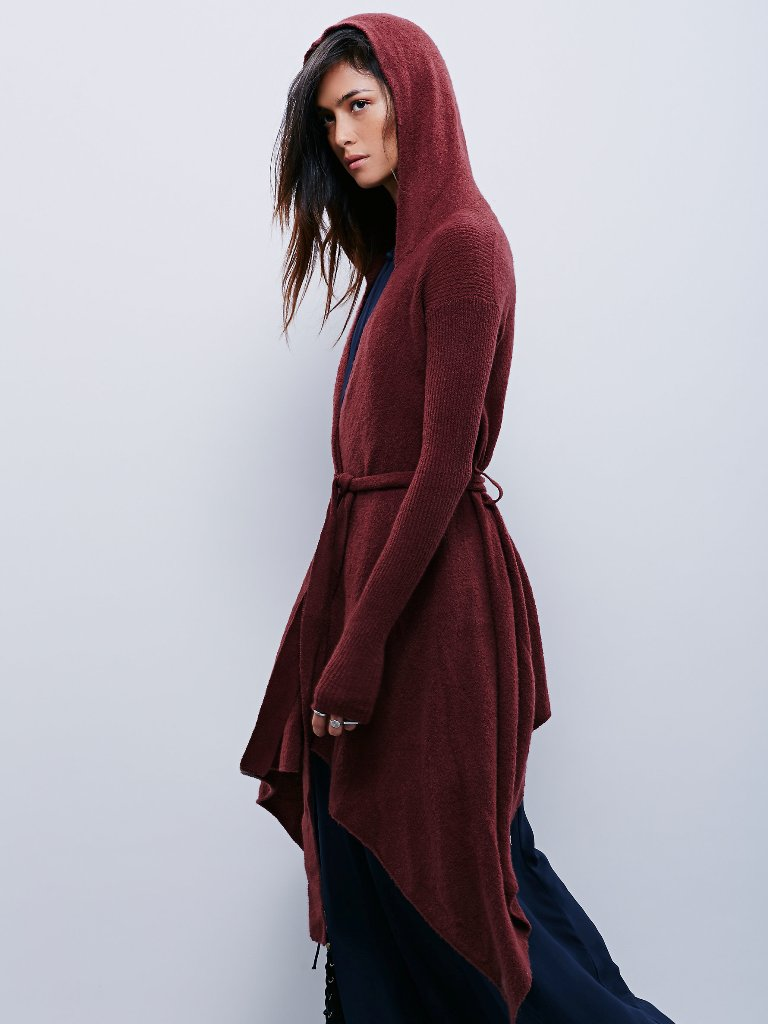 Free People Sloane Hooded Wrap Cardi | Free People Fall Collection 2015