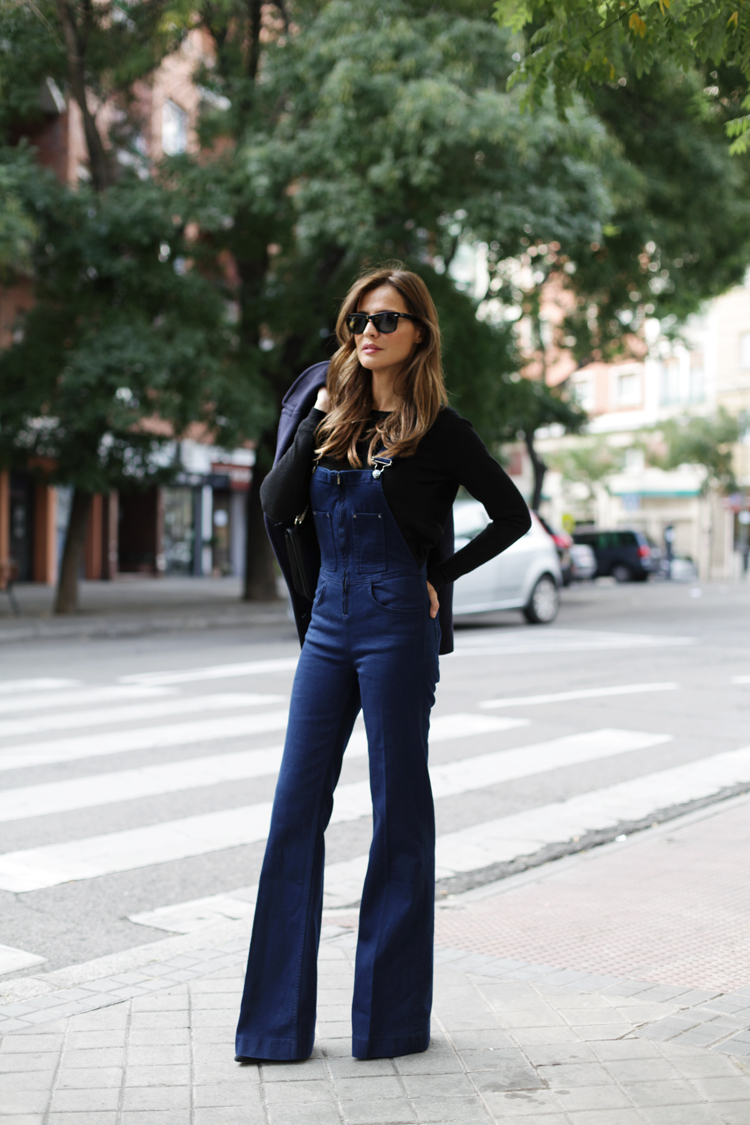 Indigo Blue Dungaree | Lady Addict | Pre-Fall Style