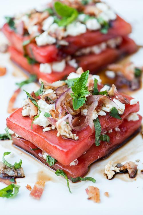 Savoury Watermelon Salad   BS in the Kitchen   Summer Salads