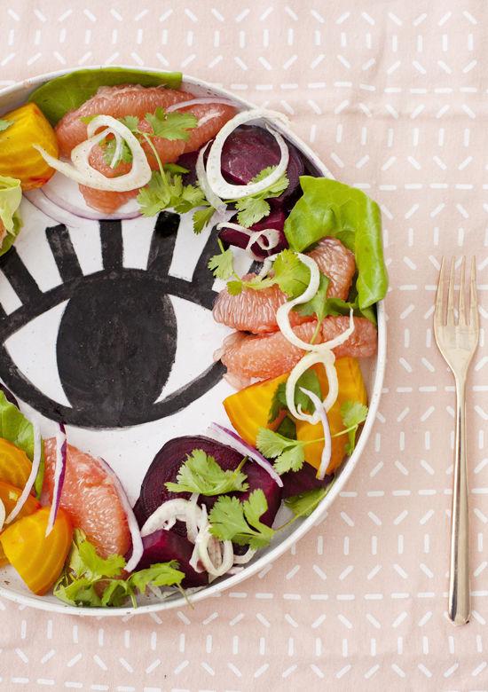 Summer Citrus Salad Recipe   Design Love Fest   Summer Salads