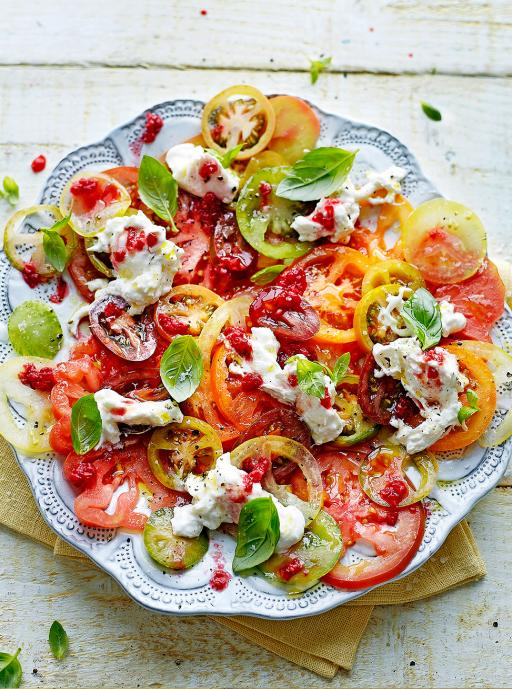 Tomato Carpaccio   Jamie Oliver   Summer Salads