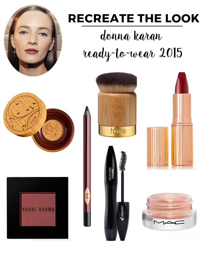 Recreate the Look Donna Karan RTW 2015 | Beauty Basics with Jamie