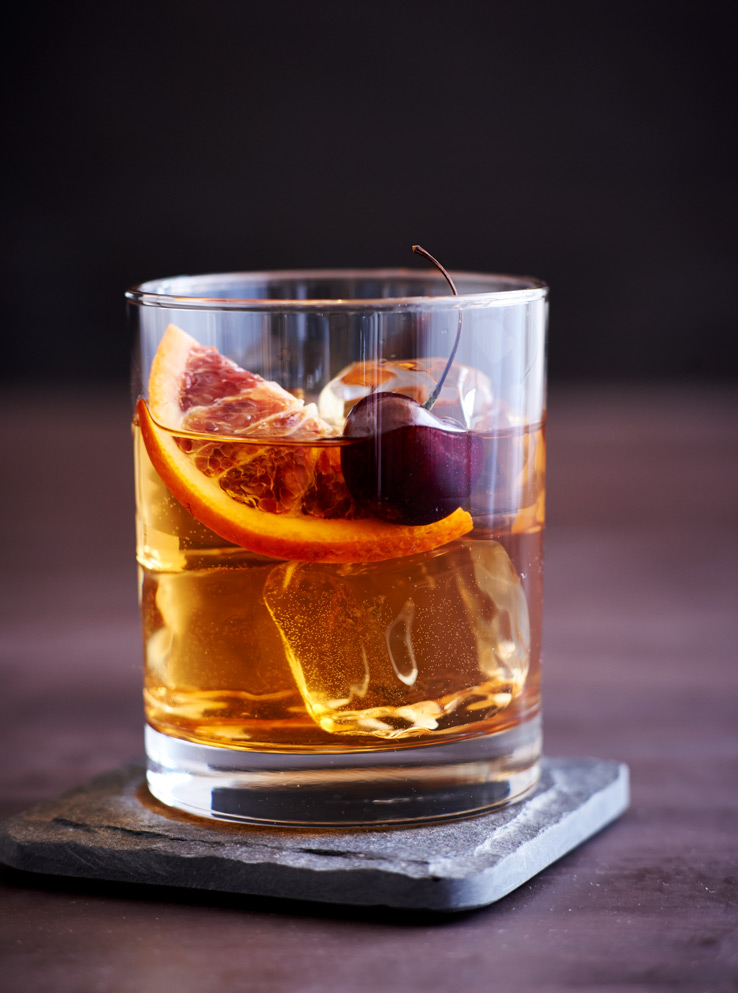 Figgy Old Fashioned by The Kitchn | West Elm Blog | 8 Autumnal Whiskey Cocktails