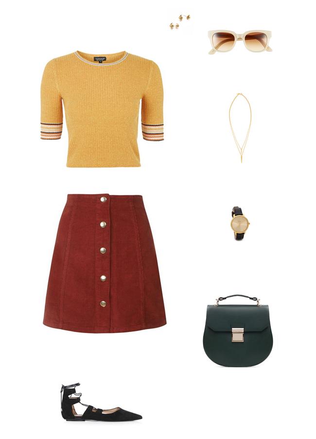 How She'd Wear It - High Waisted Mini Skirts