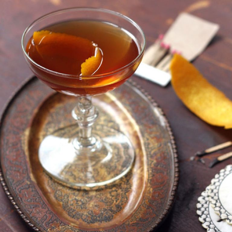The Brow Burner | Saveur | 8 Autumnal Whiskey Cocktails