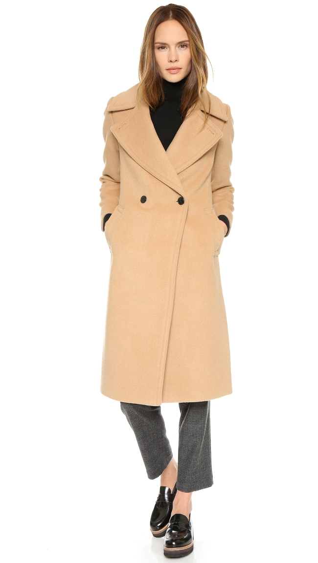 Club Monaco Daylina Coat | Camel Coats