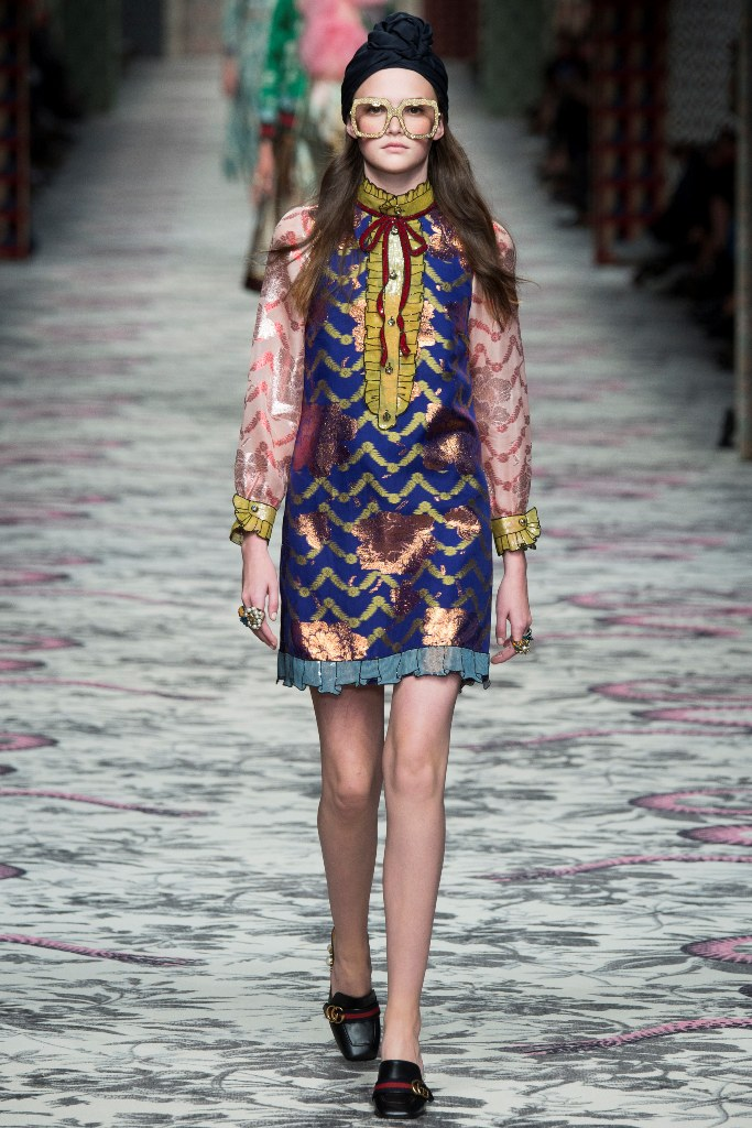 Gucci Spring 2016 Ready to Wear Look 22 | Spring 2016 Ready to Wear Runway Looks