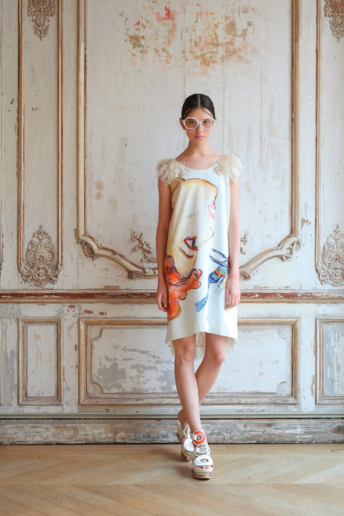 Tsumori Chisato Spring 2016 Ready to Wear Look 1 | Spring 2016 Ready to Wear Runway Looks