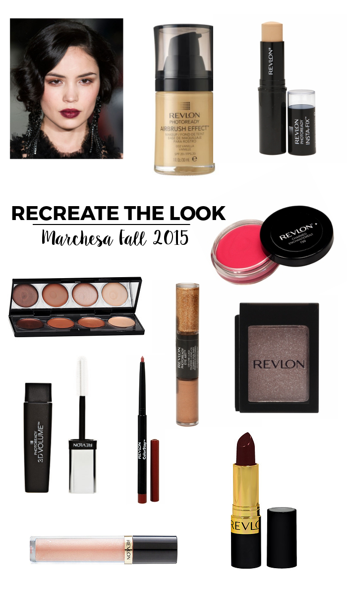 Recreate the Look Marchesa Fall 2015   Beauty Basics