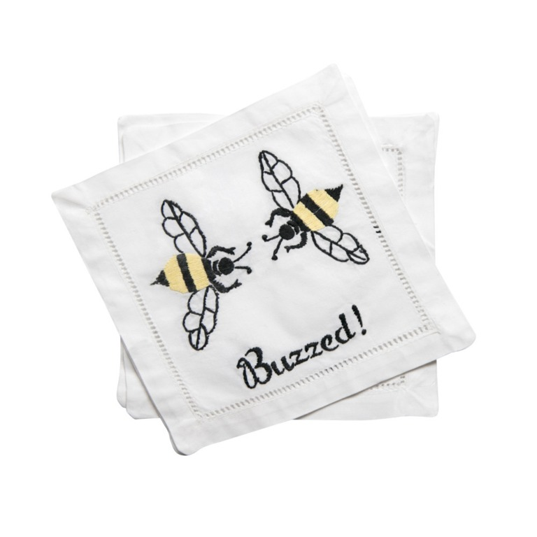 'Buzzed' Cocktail Napkins | Cheeky Home Accessories