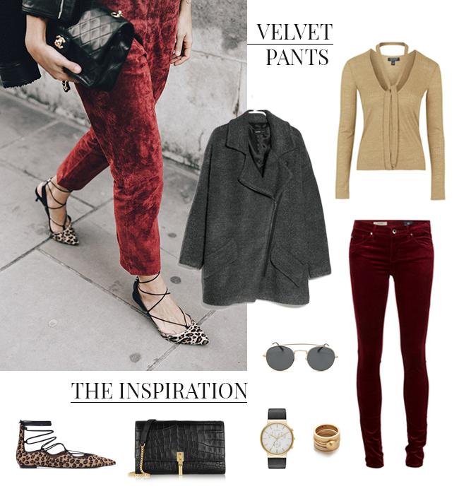 How She'd Wear It - Velvet Pants 2