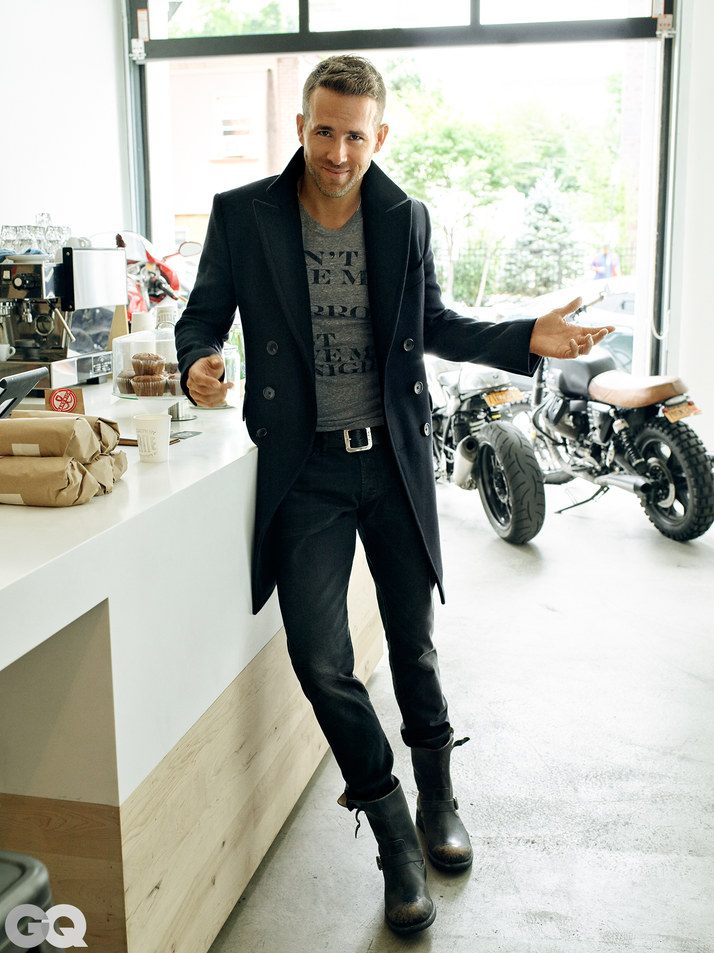 GQ Cover: Ryan Reynolds Shows How to Embrace Your Dad Years | GQ | Fall Menswear Style Inspiration