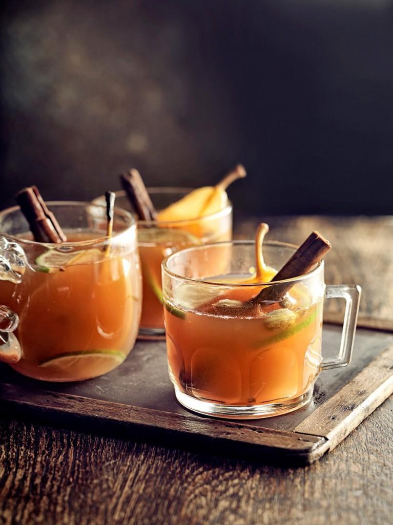 Mulled Pear & Ginger | Jamie Oliver | Winter Cocktails