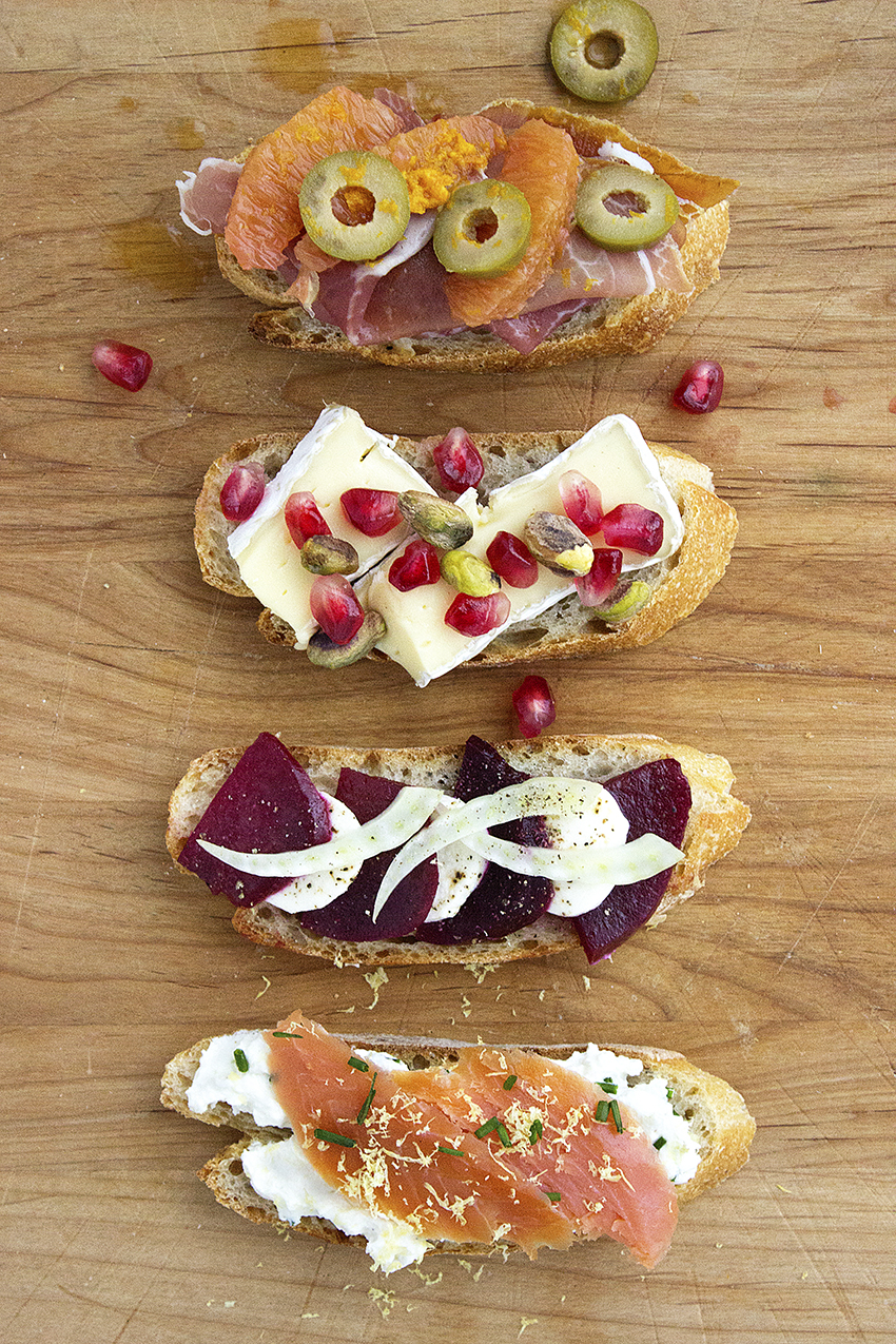 Winter Crostini with Style and Cheek