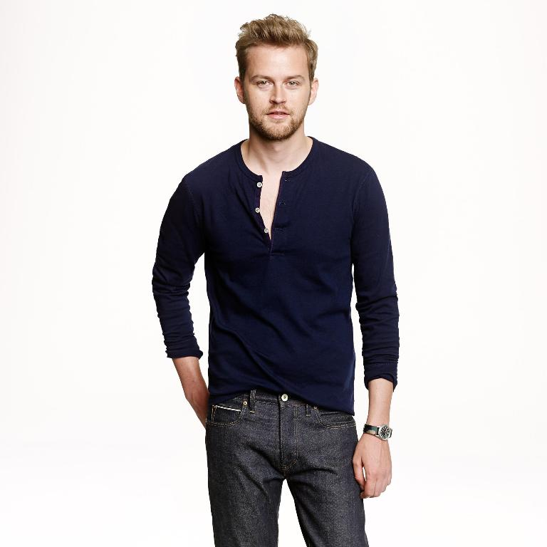 J.Crew Flagstone Henley | Mens Henleys Under 50