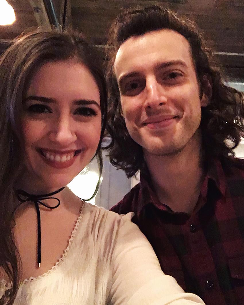 Dan and Julia on Julia's 28th birthday 2016 | Birthday Gluttony in Cap Hill