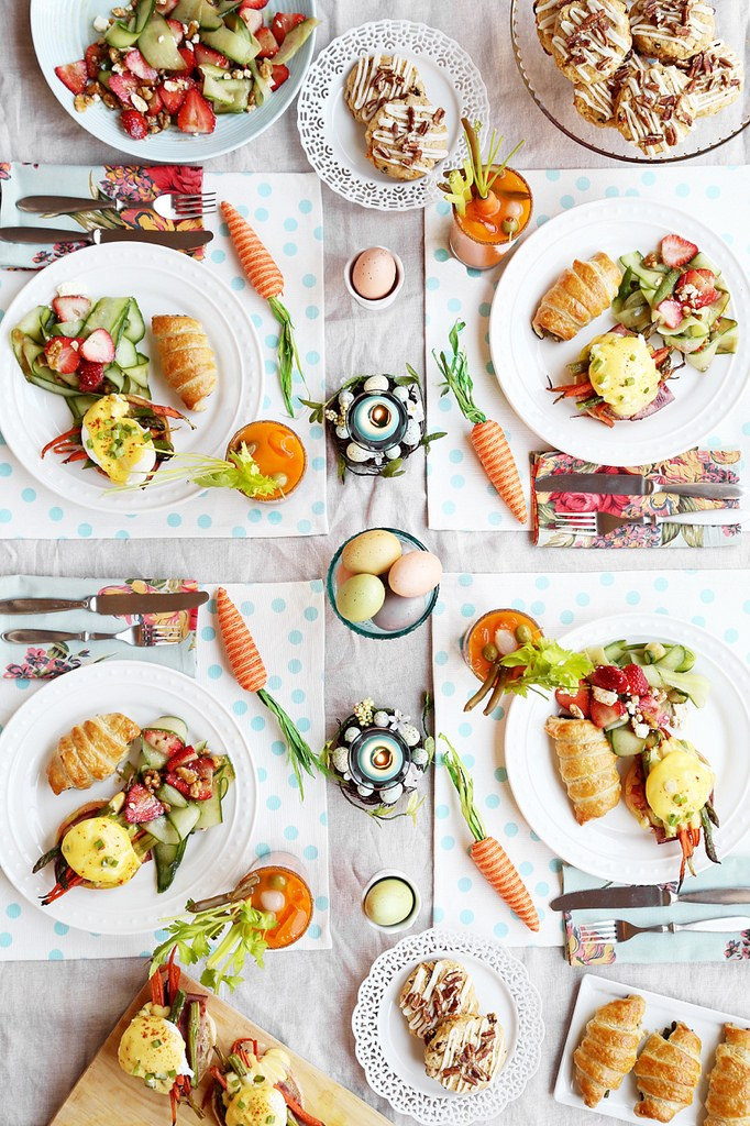 Pinterest Picks - Easter Ideas - Easter Brunch | The Candid Appetite