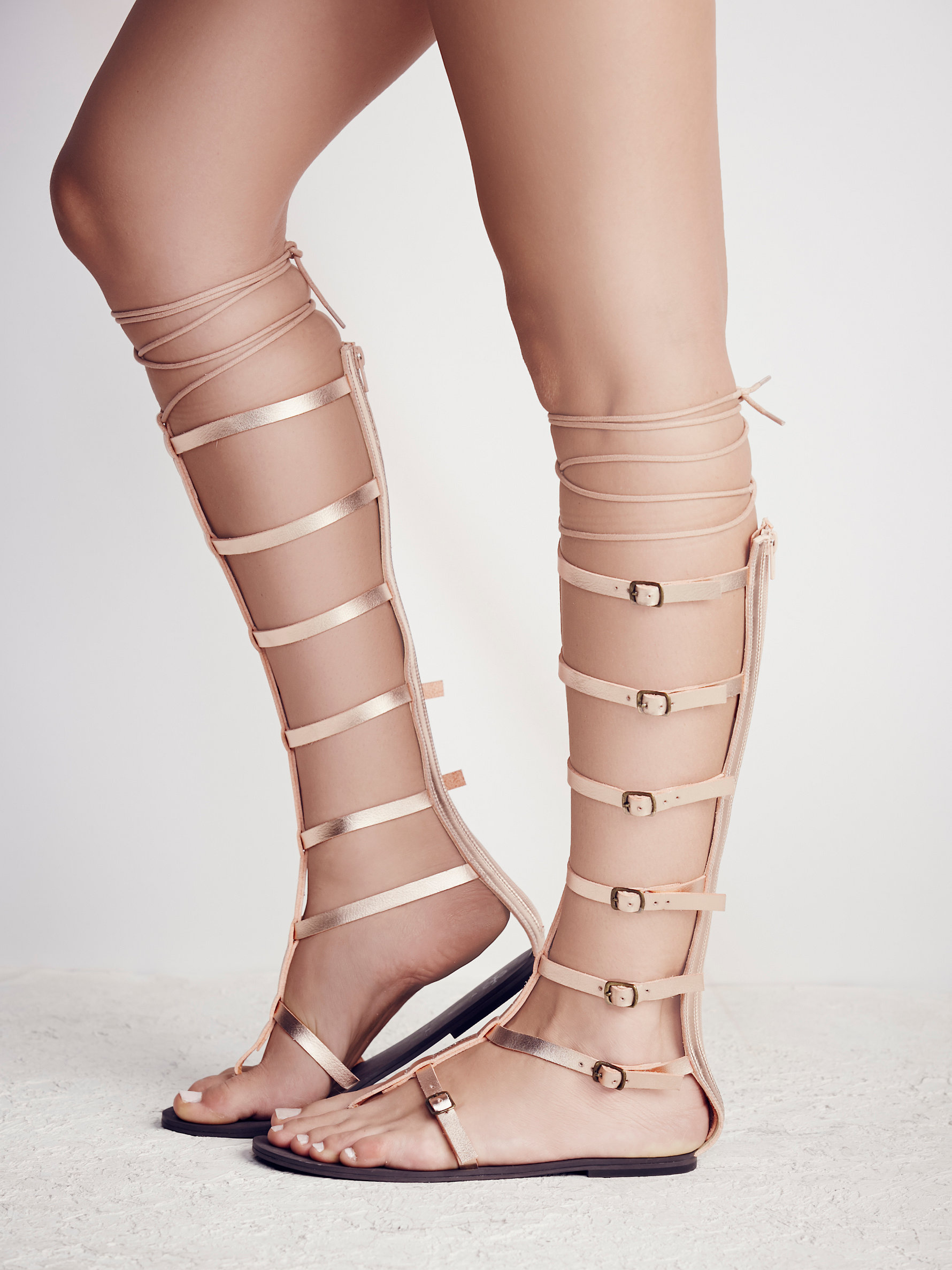 Free People's Sexy Strappy Sandals - Faryl Robin + Free People Vegan Jayden Gladiator at Free People Clothing Boutique