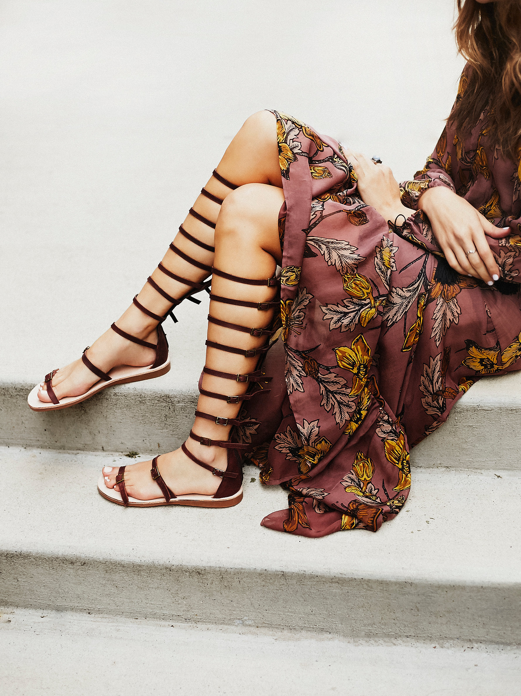 Free People's Sexy Strappy Sandals - Jeffrey Campbell + Free People Star Valley Gladiator at Free People Clothing Boutique