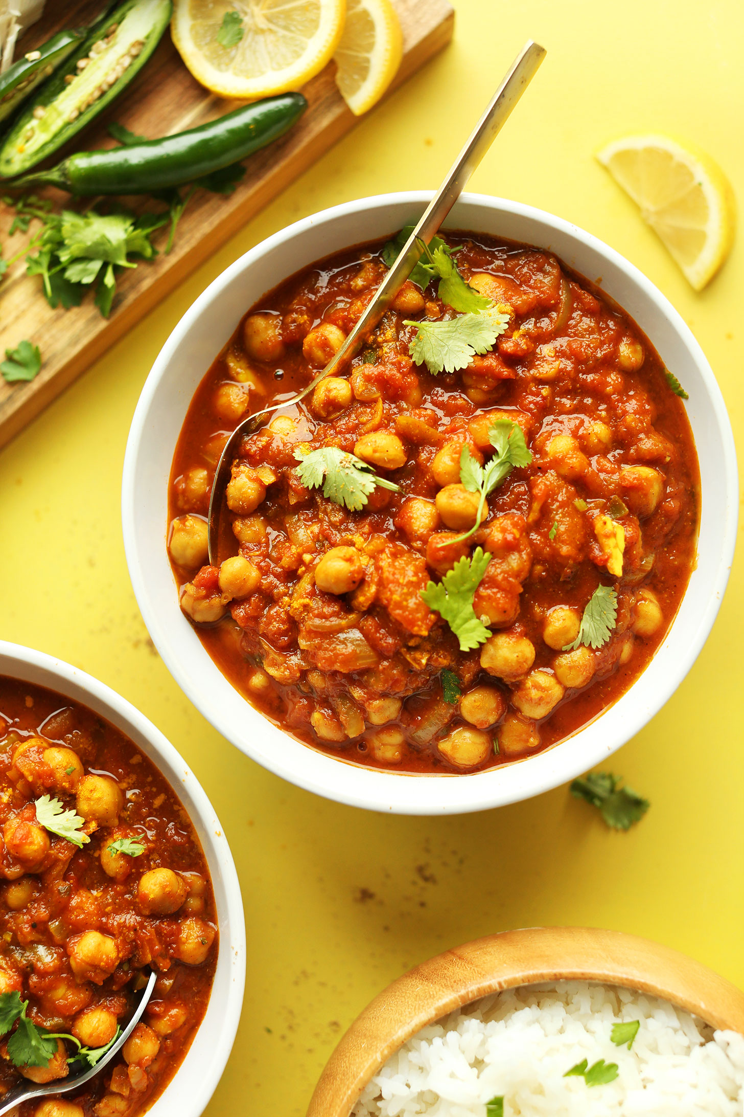 Six Delicious Vegan Recipes - Easy Chana Masala | Minimalist Baker