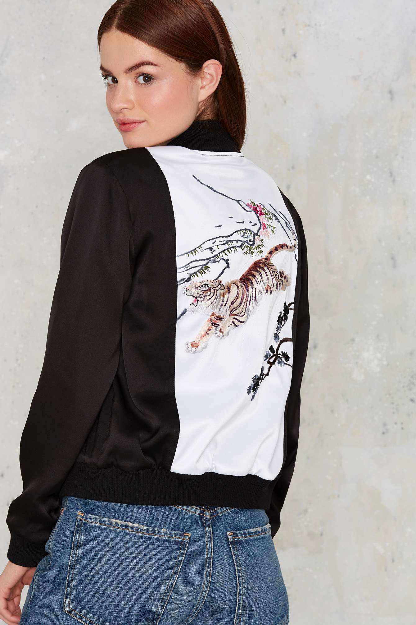 Bomber Jackets for Spring - Nasty Gal Wild In The Streets Bomber Jacket