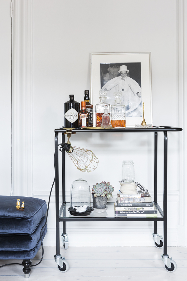 Bar Cart Inspiration - Scandinavian Home | Style Me Pretty Home