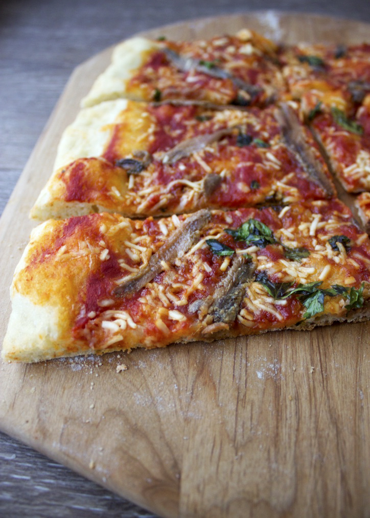 Anchovy Pizza recipe | Style and Cheek