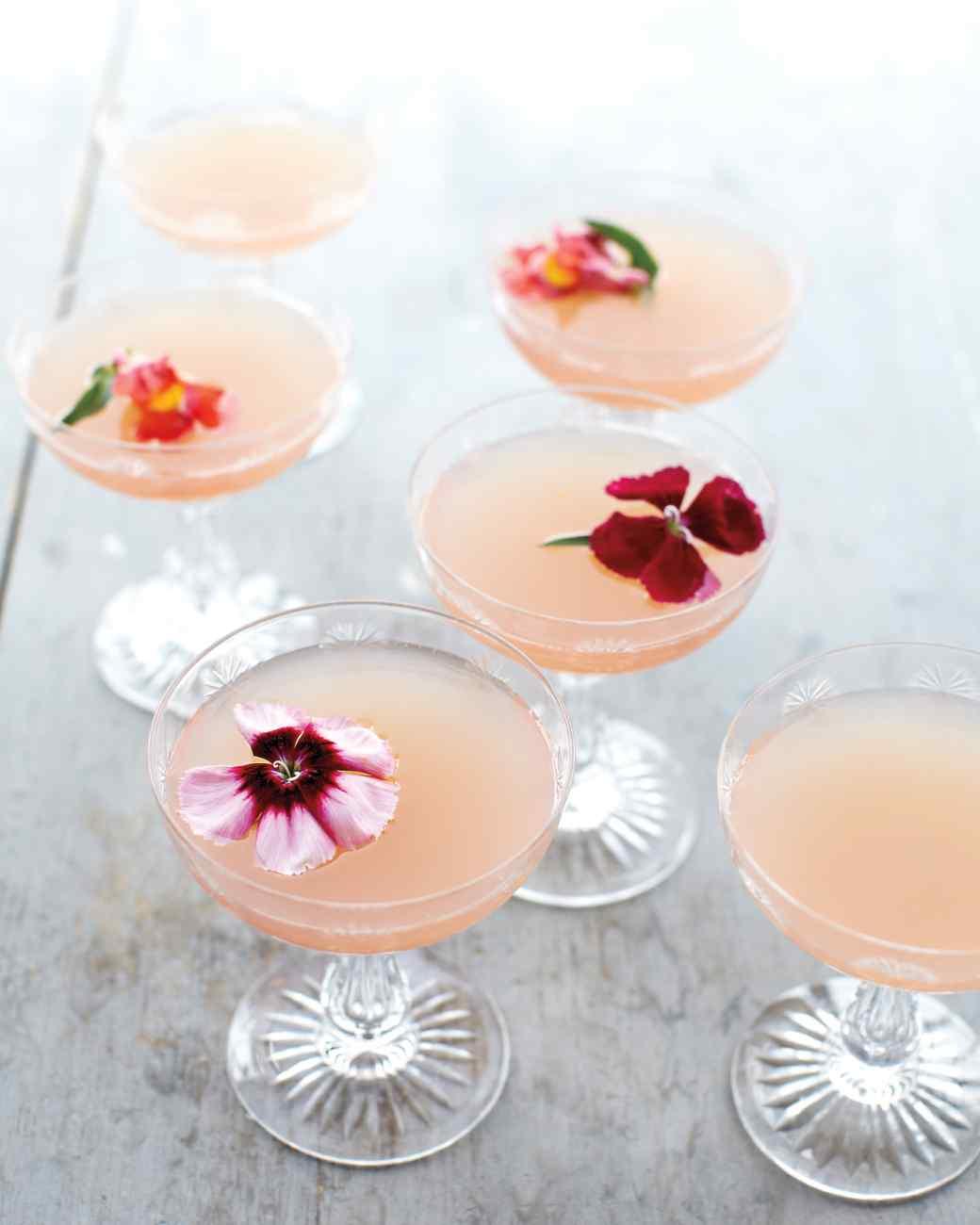 8 Refreshing Spring Cocktails - Lillet Rose Spring Cocktail | Martha Stewart