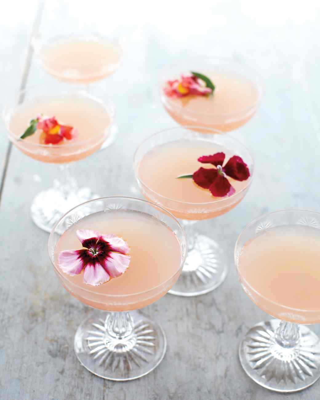 8 Refreshing Spring Cocktails - Lillet Rose Spring Cocktail | Martha Stewart