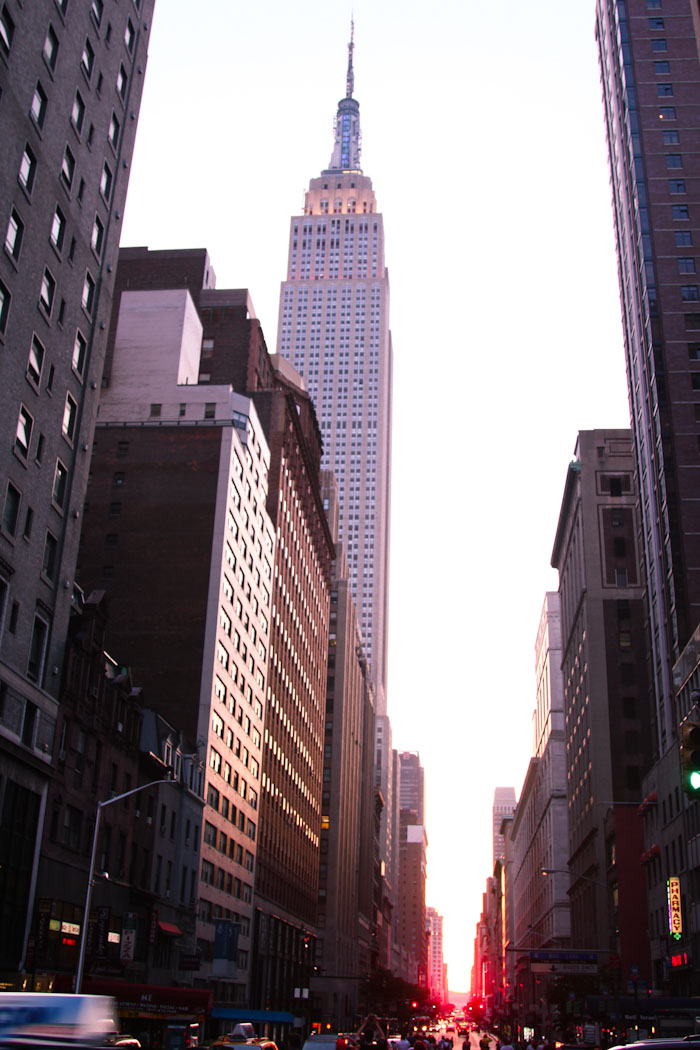Top Five US Spring Travel Destinations - Manhattanhenge (In Person This Time) | Hither and Thither