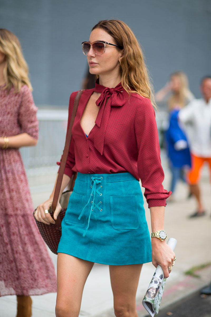 Spring Style - NYC Style: Fashion Week from the Street - Ece Sukan photo by: DIEGO ZUKO