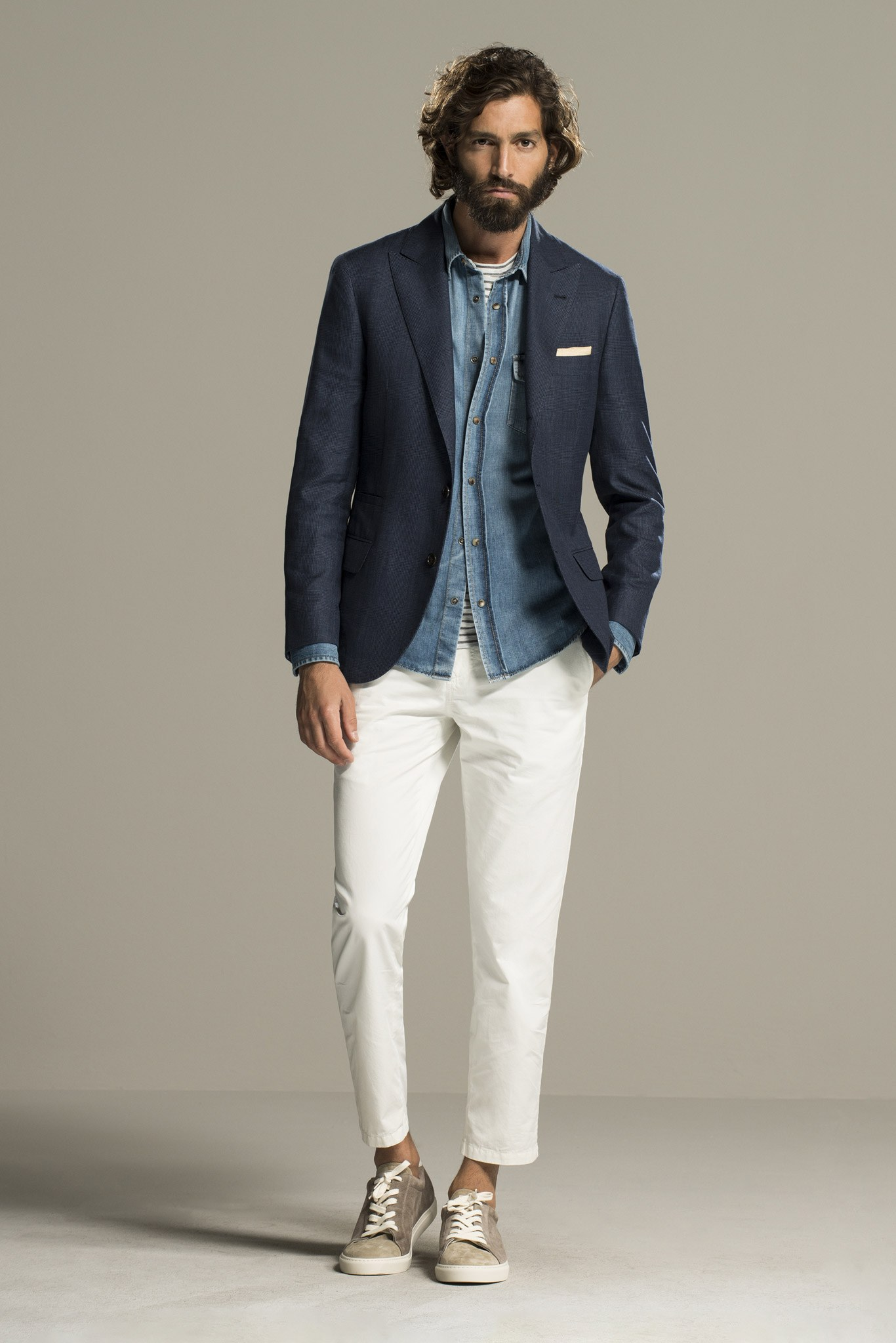 Spring Menswear Style Inspiration - Spring 2016 Menswear Brunello Cucinelli Look 26 | Vogue