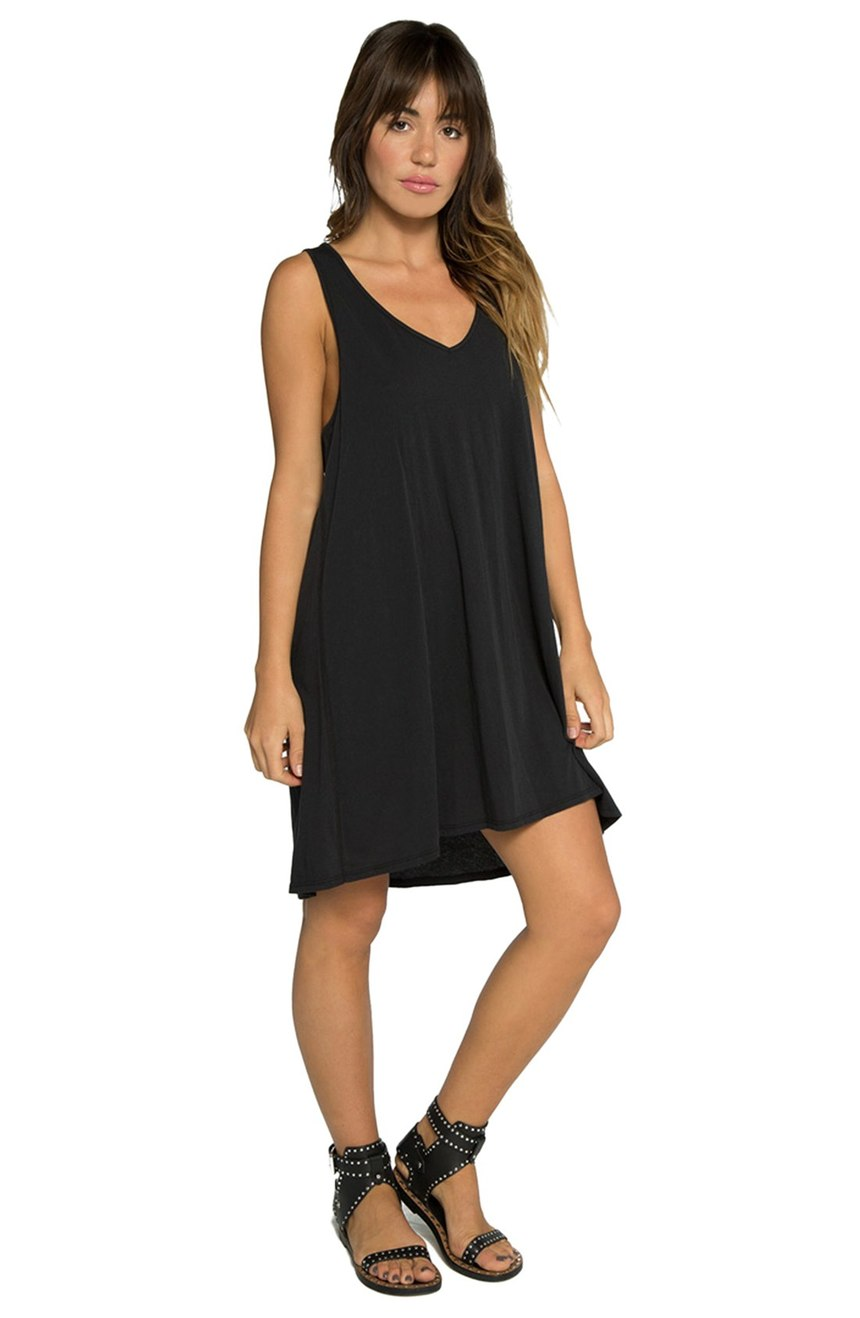 TAVIK 'Mila' Knit Racerback Dress - Casual Little Black Dresses