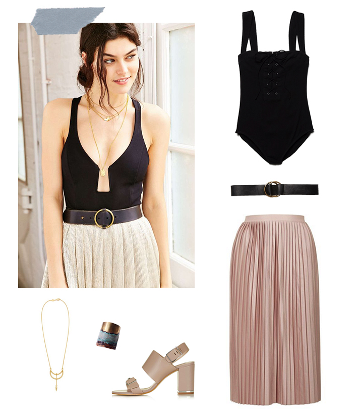 Bodysuits and Skirts | How She'd Wear It with Style and Cheek