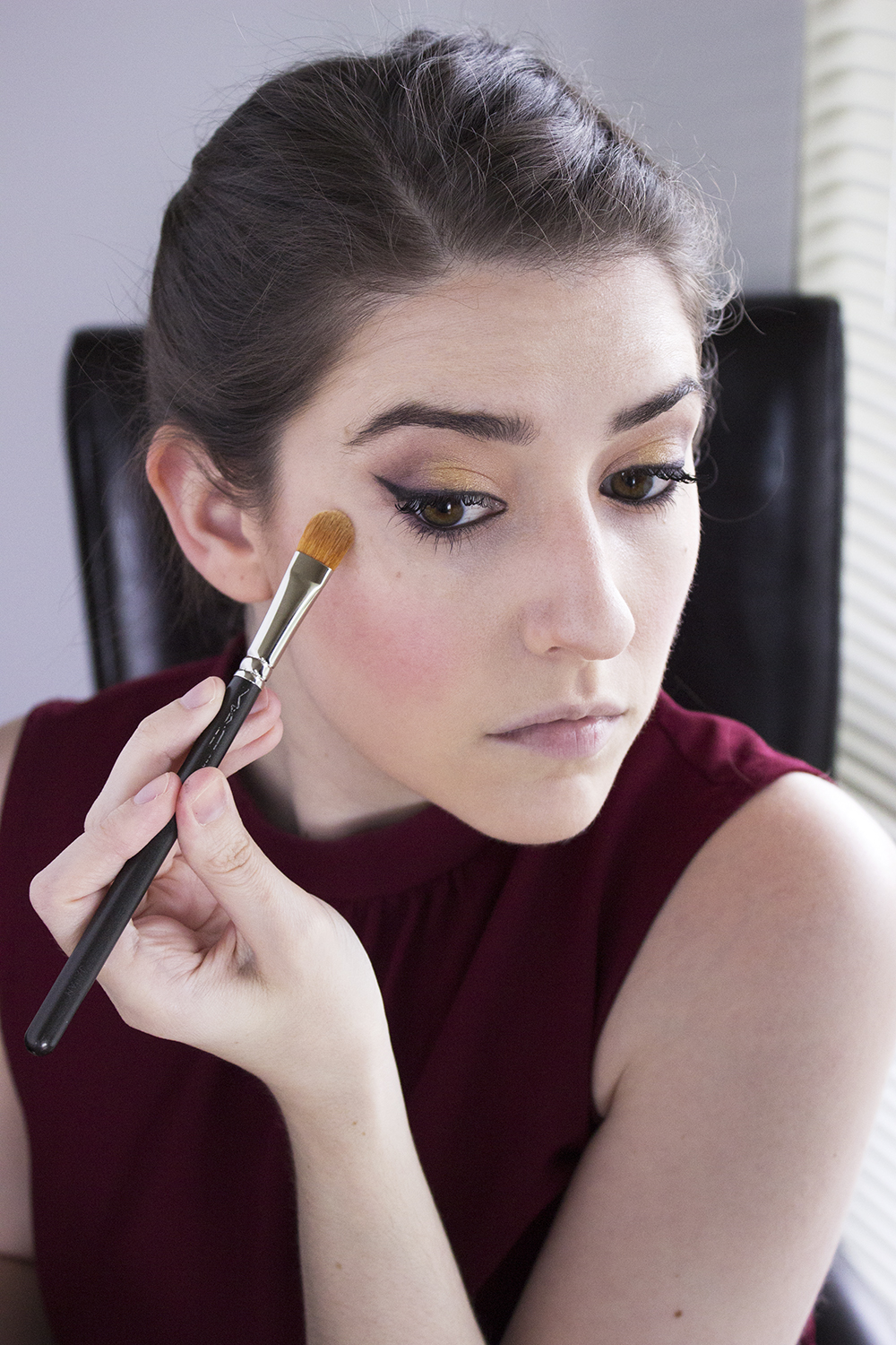 Sultry Summer Makeup Look with Bartell Drugs Step 8 Maybelline Master Contour 3 Highlight