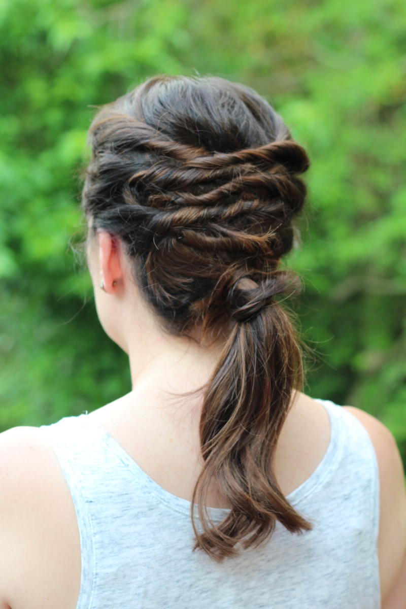 Easy Summer Hairstyles - Layered Ponytail | Beauty Basics