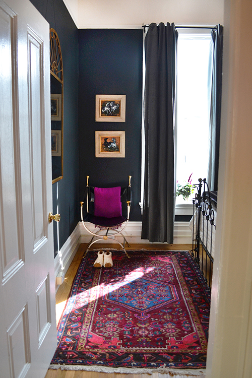A Warm SF Home With A Rock 'N Roll Twist | Design Sponge - Pinterest Picks - Bohemian Rugs