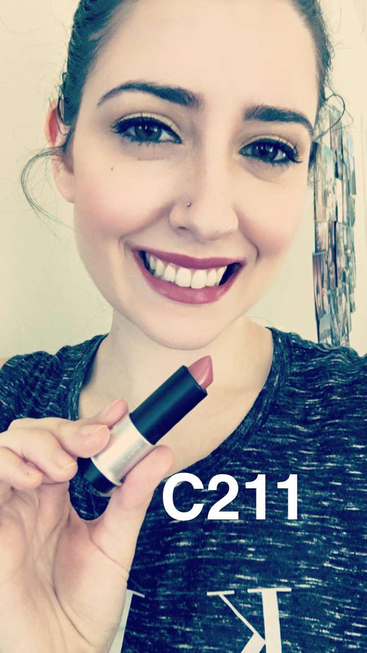 Make Up For Ever Artist Rouge Lipstick C211 - Make Up For Ever Artist Rouge Collection Review