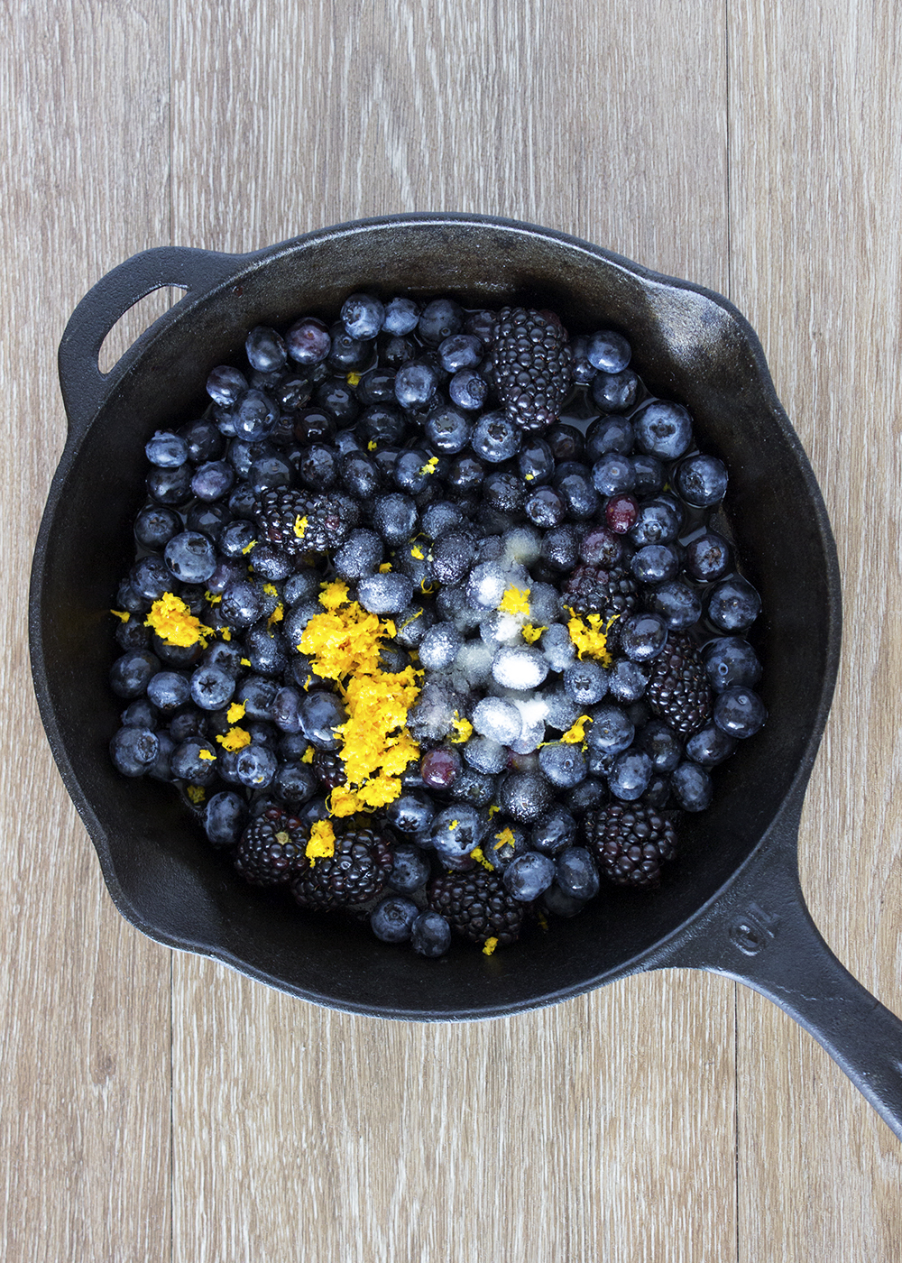 Mixed Berry Grunt ingredients | Style and Cheek