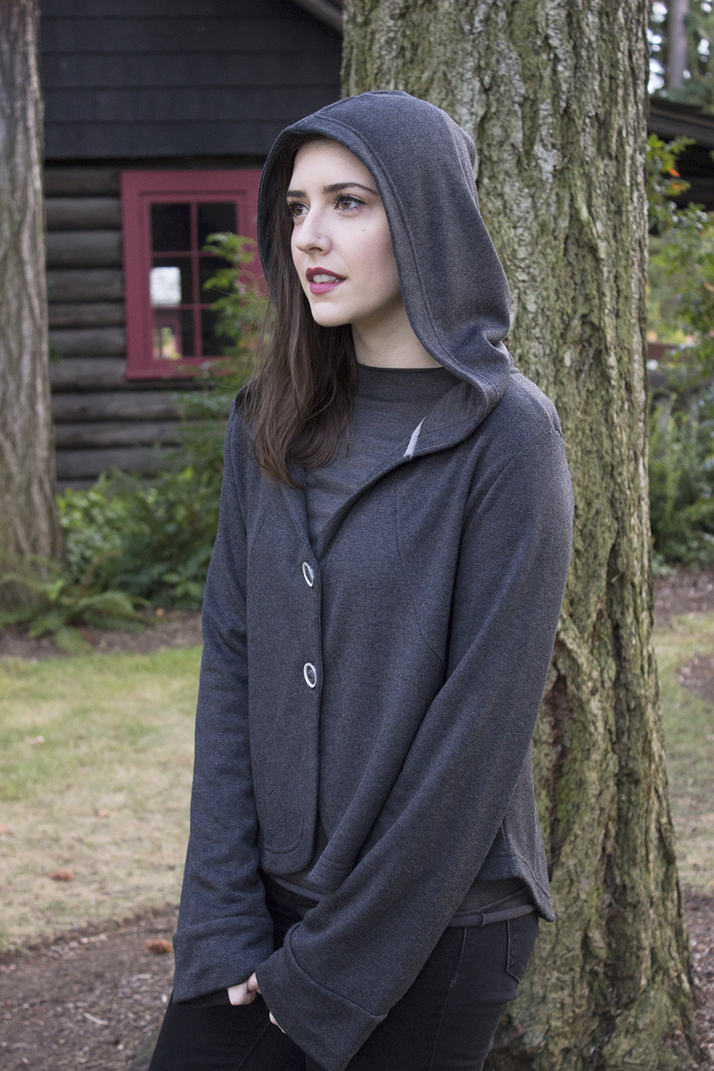 Buki Hometown Hoodie and Shanna Tee Travel Outfit Style and Cheek - Perfect Travel Outfit with Buki